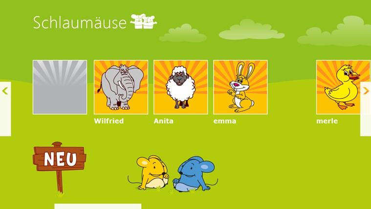Schlaumäuse - Im Land der Sprache Screenshot 1