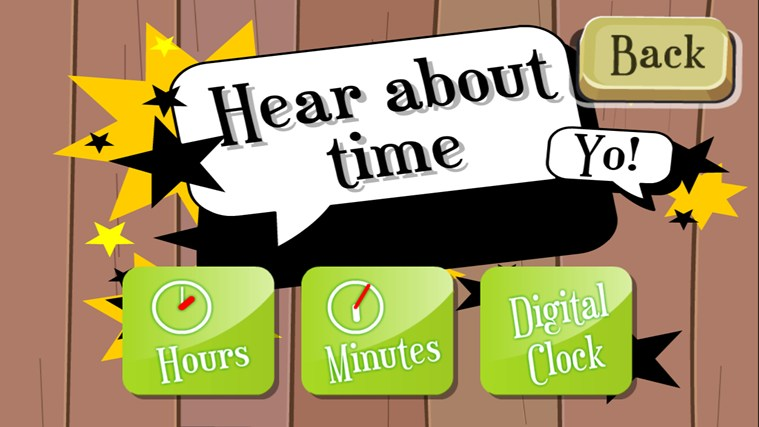 Learn to Tell Time screen shot 5