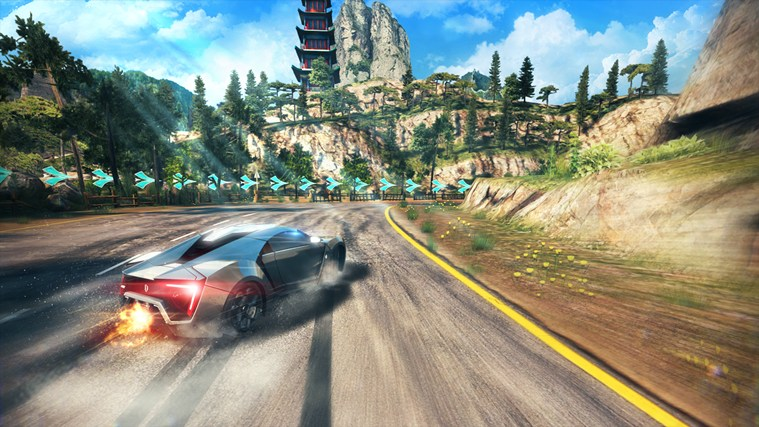 Asphalt 8: Airborne screen shot 1