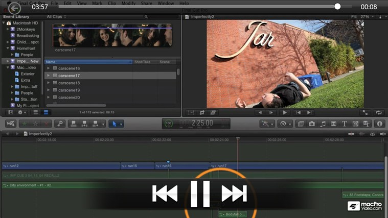 Final Cut Pro X 104 - Advanced Editing Techniques captura de pantalla 3