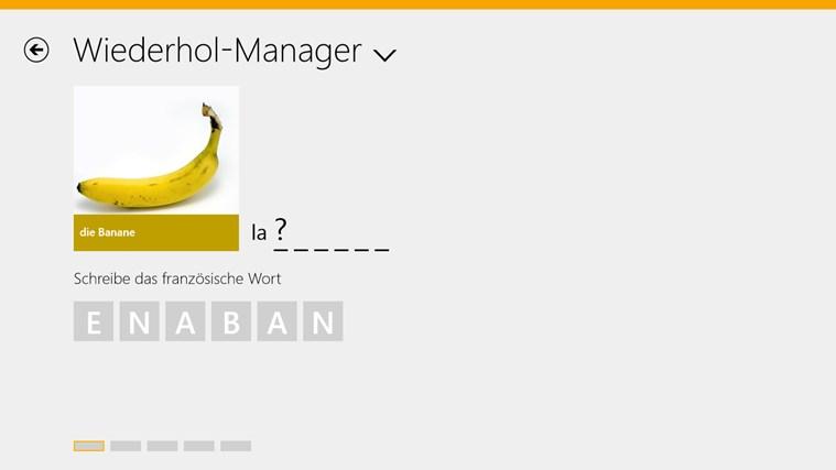 Französisch lernen mit babbel.com Screenshot 3