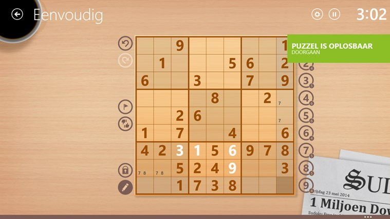 Sudoku Free schermafbeelding 3