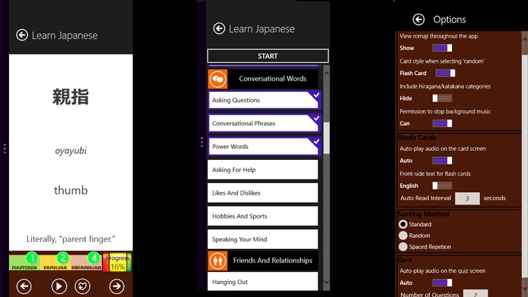 Learn Japanese screen shot 7