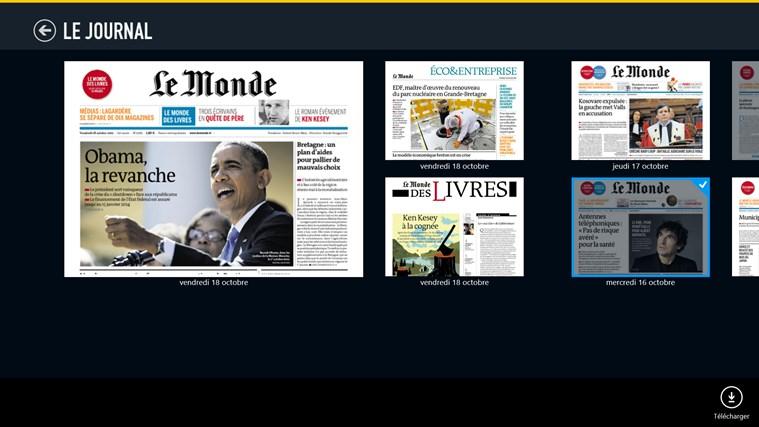 Le Monde.fr capture d'écran 5