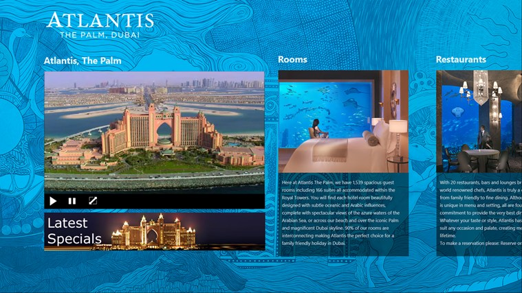 Atlantis The Palm screen shot 1