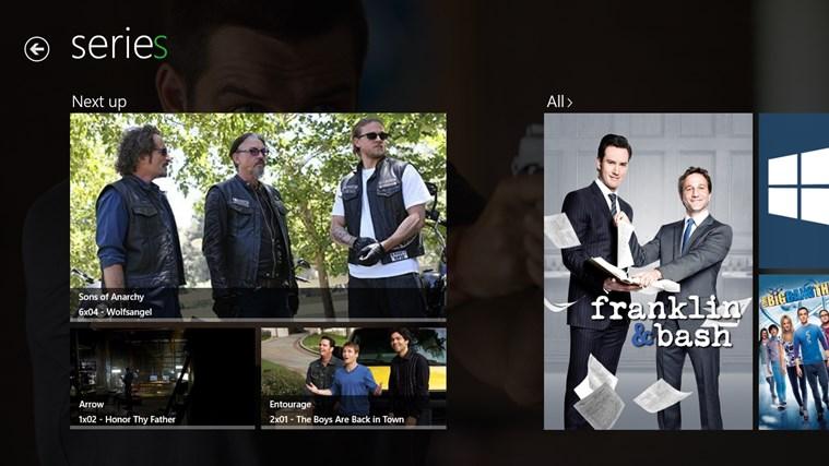 Media Browser screen shot 3