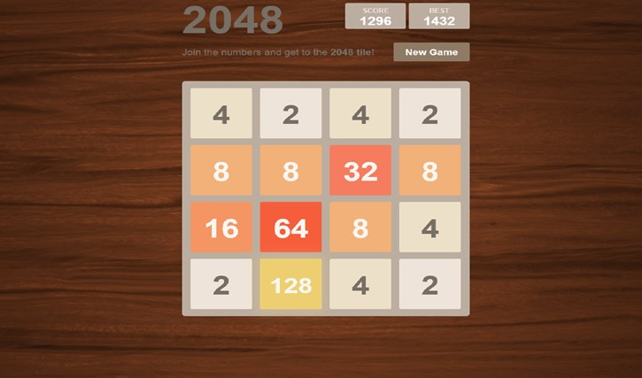 2048 Collection: 12 Game Boards screen shot 1