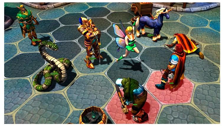 King's Bounty: Legions screen shot 7