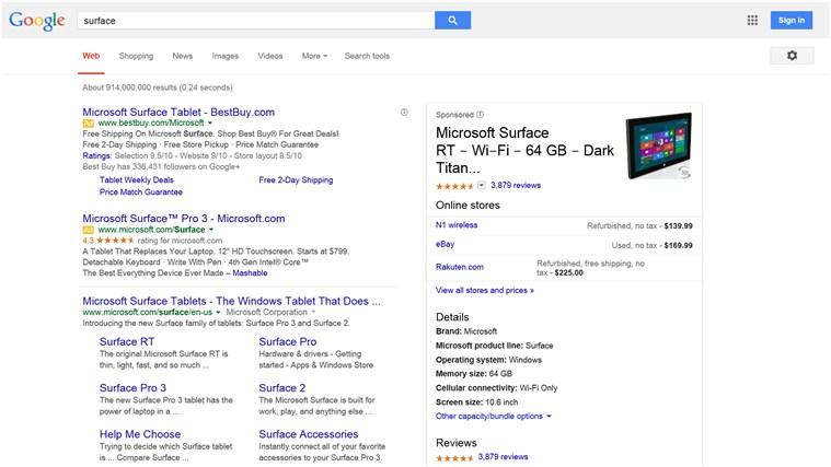Pan-Search screen shot 3