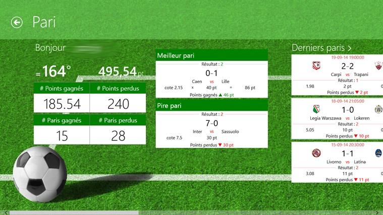 Tile LiveScore capture d'écran 3