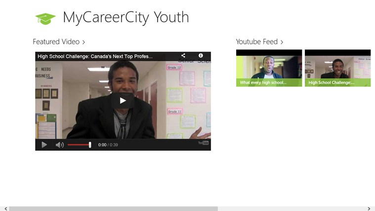 MyCareerCity Youth screen shot 1