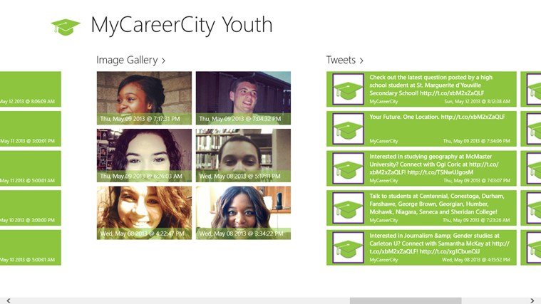 MyCareerCity Youth screen shot 3