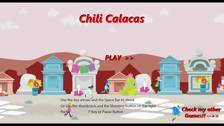 Chili Calacas screen shot 1