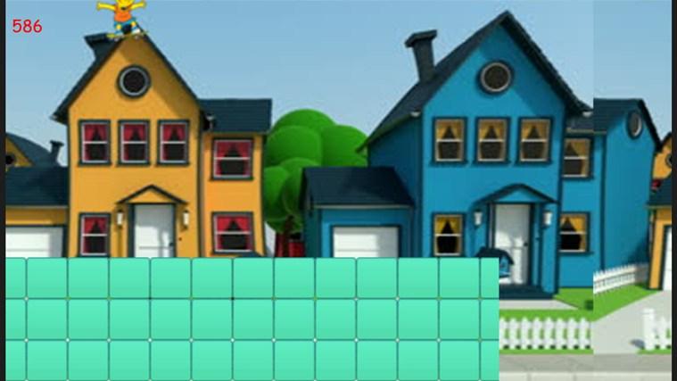Bart's Skateboard Dash schermafbeelding 1