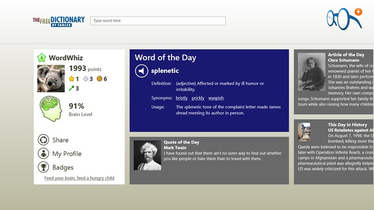 Dictionary Pro screen shot 1