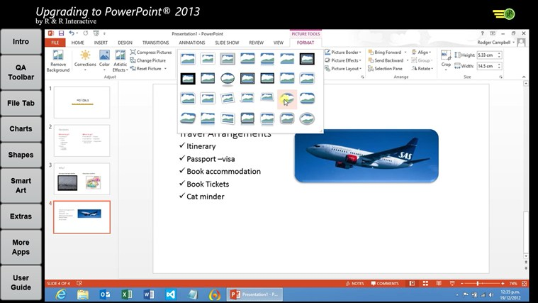 Upgrade to PowerPoint 2013 Tutorials Tangkapan Layar 3