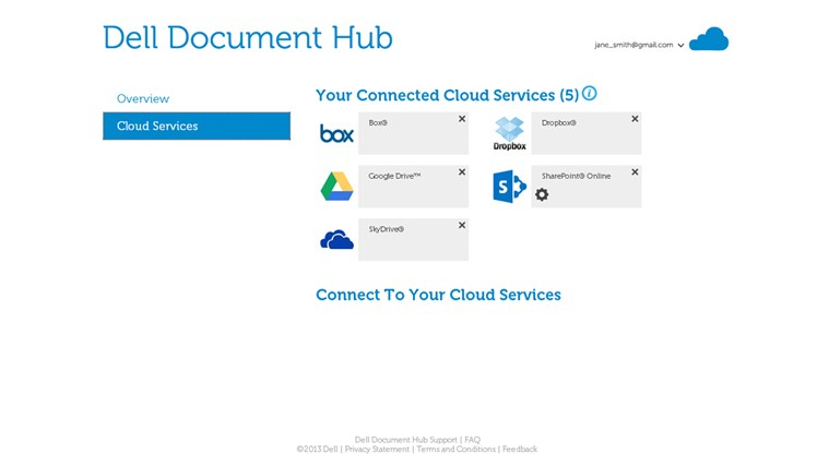 Dell Document Hub screen shot 1
