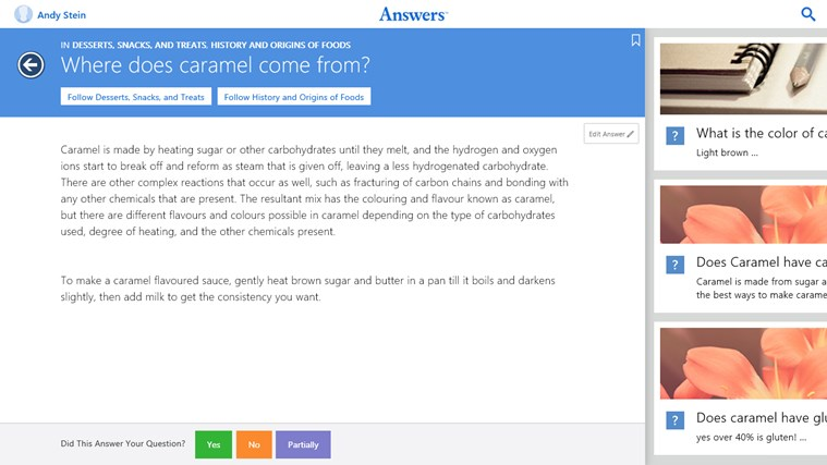 Answers.com screen shot 5