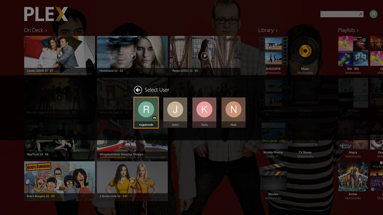 Plex screen shot 5