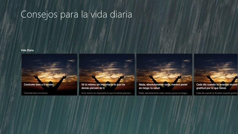 Consejos para la vida diaria captura de pantalla 1
