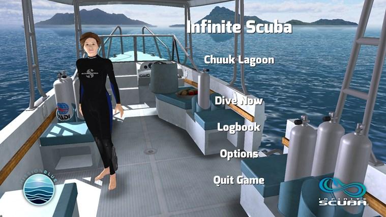 Infinite Scuba screen shot 1