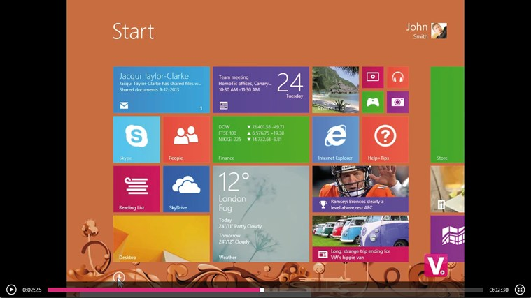 Training for Windows 8 by Vodeclic screen shot 3