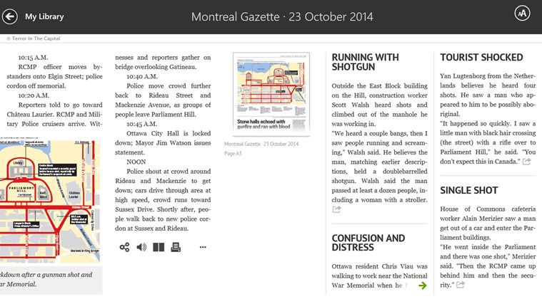 Montreal Gazette ePaper capture d'écran 1
