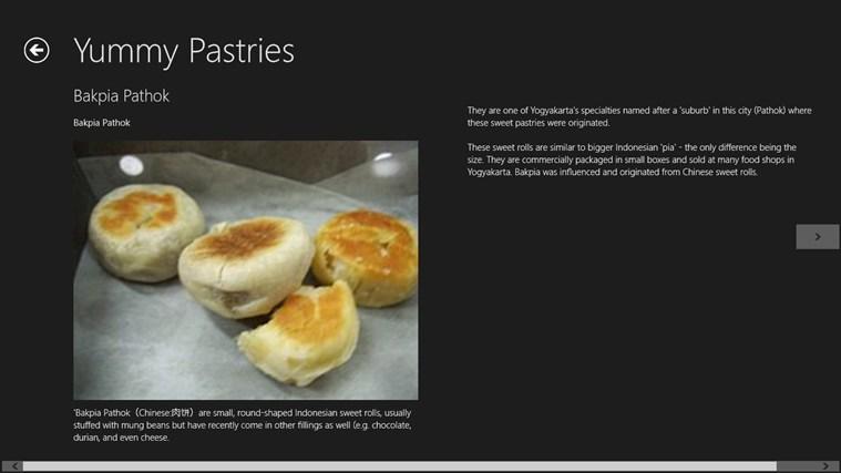 Yummy Pastries screenshot 1