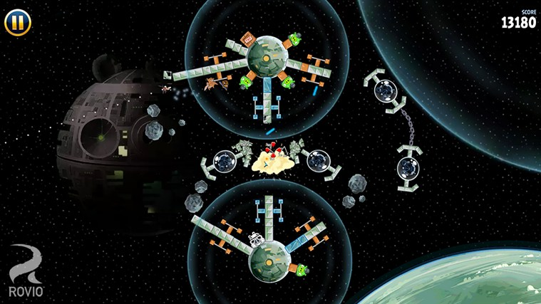Angry Birds Star Wars captura de tela 3