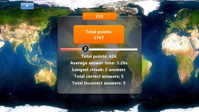 Geography Quiz Game screen shot 3