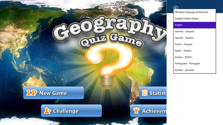 Geography Quiz Game screen shot 5