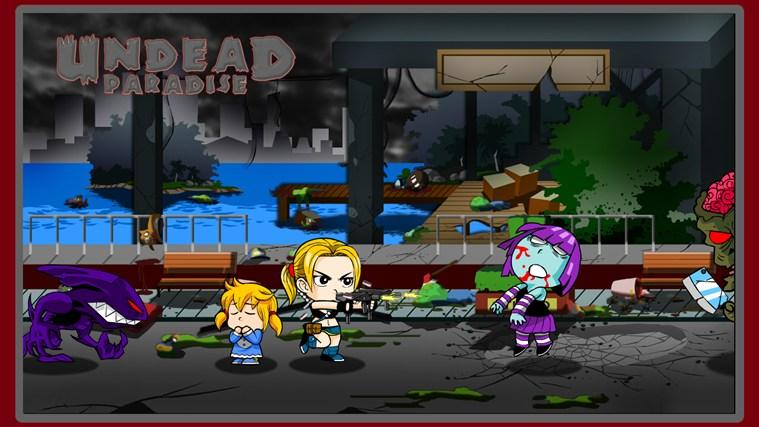 Undead Paradise screen shot 3