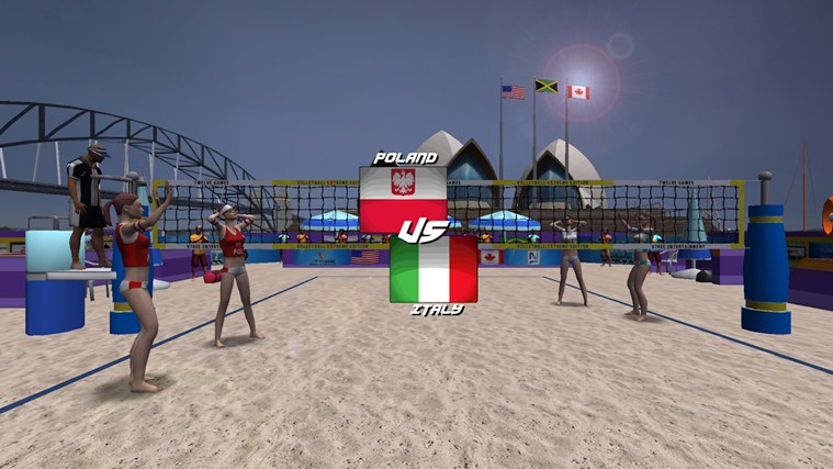 Volleyball Extreme Edition screen shot 1