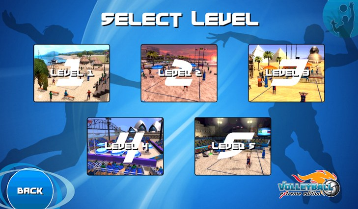 Volleyball Extreme Edition screen shot 3