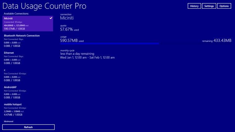 Data Usage Counter Pro screen shot 7