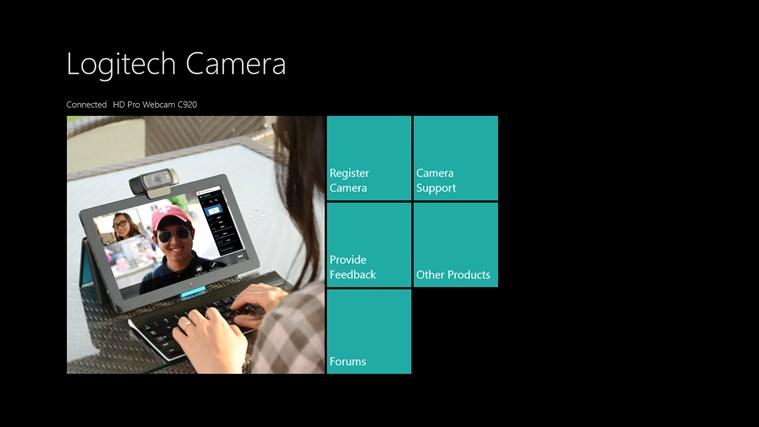 Logitech Camera Controller screen shot 1