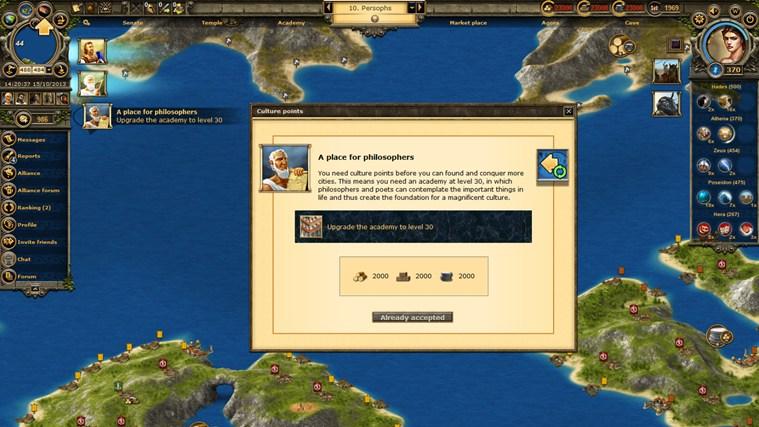 Grepolis captura de pantalla 1