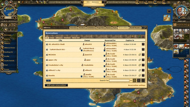 Grepolis captura de pantalla 3