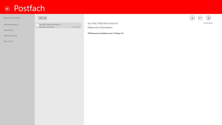 Sparkasse Screenshot 5