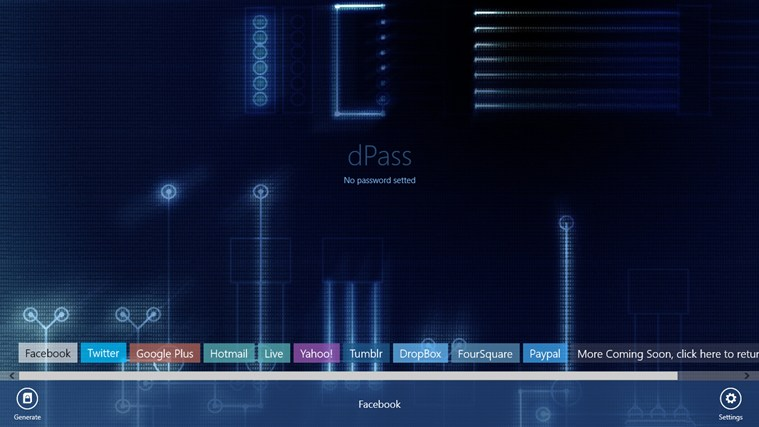 dPass screen shot 5