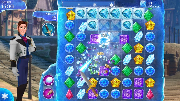 Frozen Free Fall screen shot 3