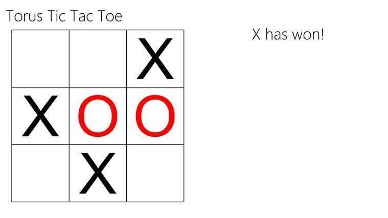 Torus Tic Tac Toe screen shot 1
