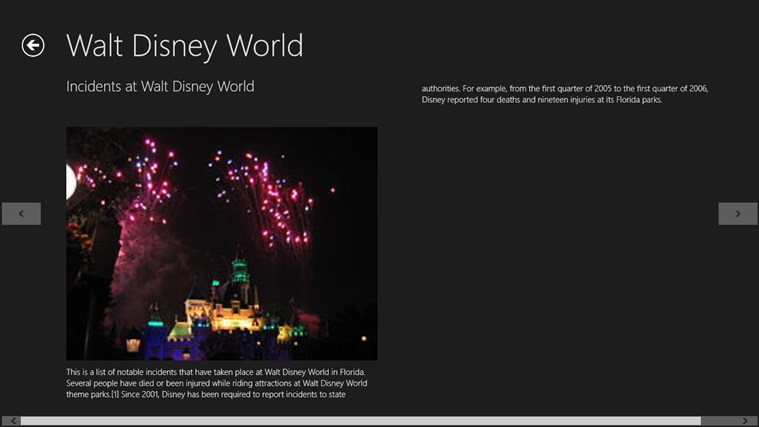 WALT DISNEY WORLD Screenshot 3