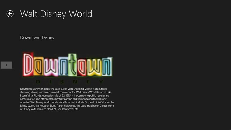 WALT DISNEY WORLD Screenshot 5