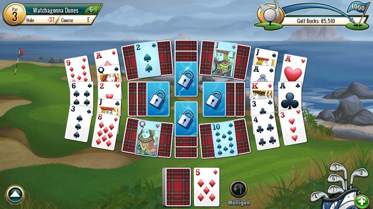 Fairway Solitaire by Big Fish screen shot 3