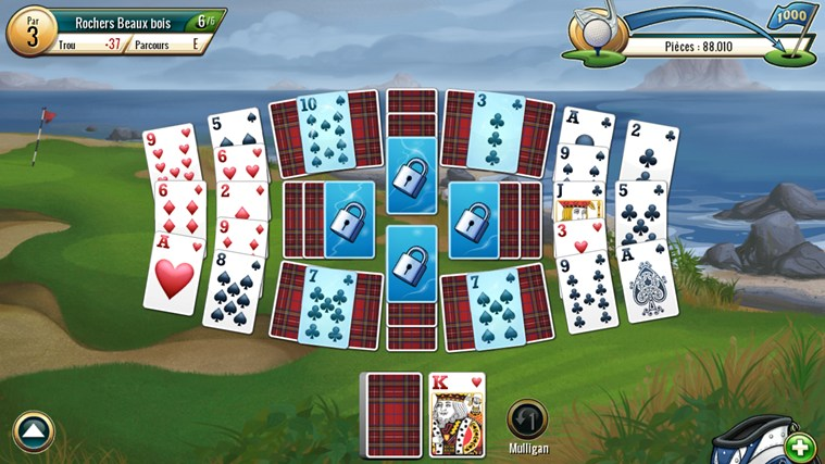 Application fairway solitaire by big fish pour windows for Fairway solitaire big fish games