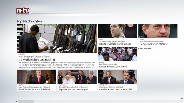 n-tv Nachrichten Screenshot 1