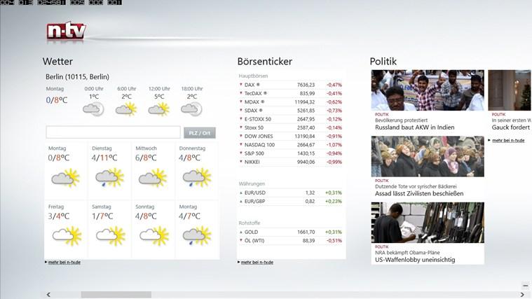 n-tv Nachrichten Screenshot 3