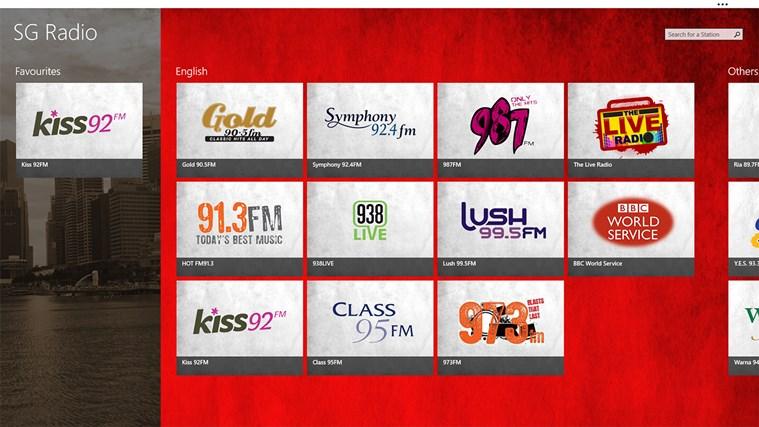 SG Radio screen shot 1
