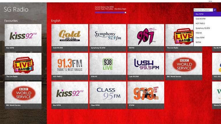 SG Radio screen shot 7